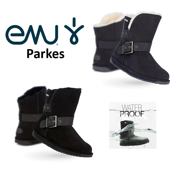 エミュー emu ムートン ブーツ Parks 完全 防水 パークス W11254