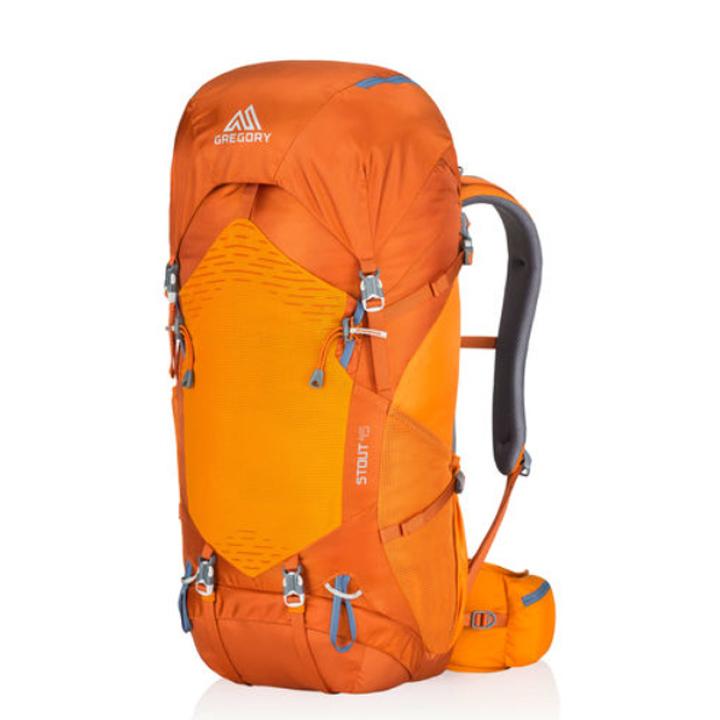 グレゴリー Gregory スタウト45 Stout45 2017年新モデル フレームサイズ M オレンジ orenge 登山用 長距離ハイキング バックパック リュックサック