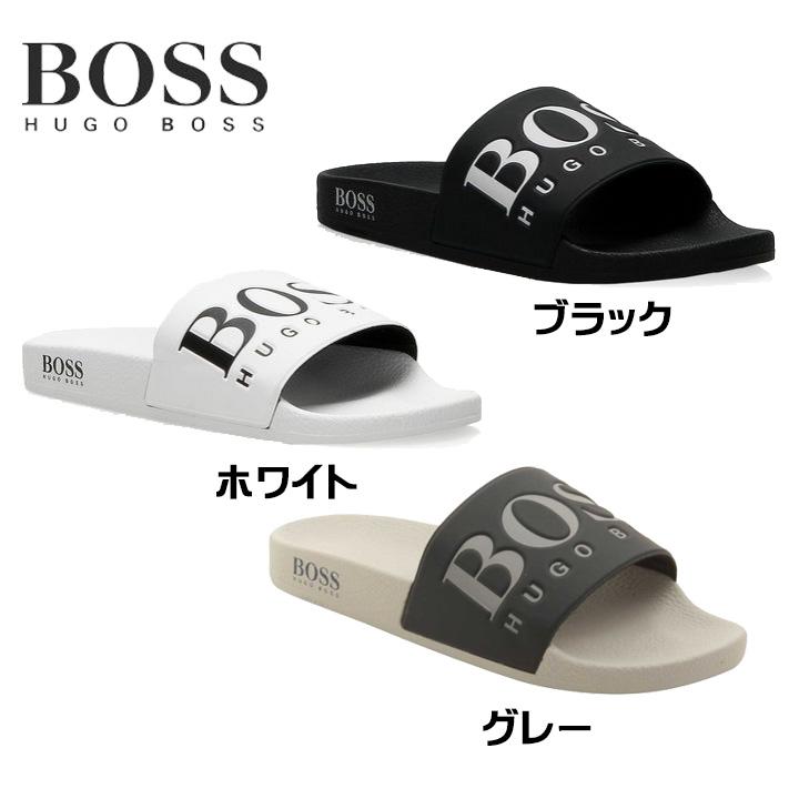 9f0ac177a20e Hugo Boss Hugo Boss Solar Slid Logo Slider Flip Flop Hugo Boss sandals