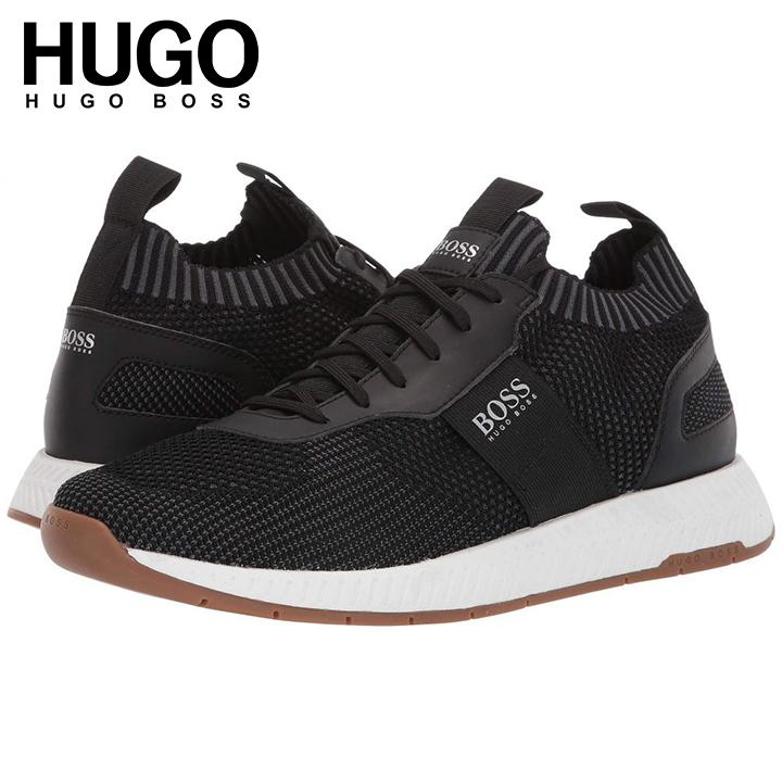 【日本未発売】ヒューゴボス Hugo Boss Titanium Running Sneakers スニーカー靴 ニット