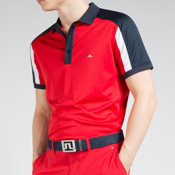 ジェイリンドバーグ J.Lindeberg ゴルフ ポロシャツJoel Fieldsensor Slim Fit Polo ネイビー Navy スリムフィット