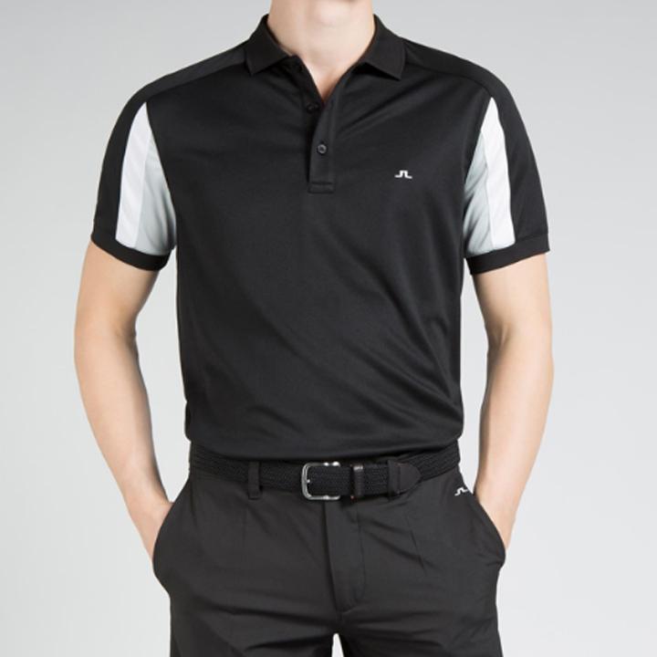ジェイリンドバーグ J.Lindeberg ゴルフ ポロシャツJoel Fieldsensor Slim Fit Polo ブラック Black スリムフィット