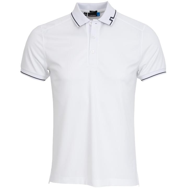 ジェイリンドバーグ J.Lindeberg ゴルフ ポロシャツJens Fieldsensor Slim Fit Polo ホワイト White スリムフィット
