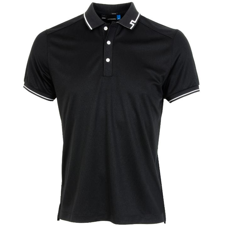ジェイリンドバーグ J.Lindeberg ゴルフ ポロシャツJens Fieldsensor Slim Fit Polo ブラック Black スリムフィット