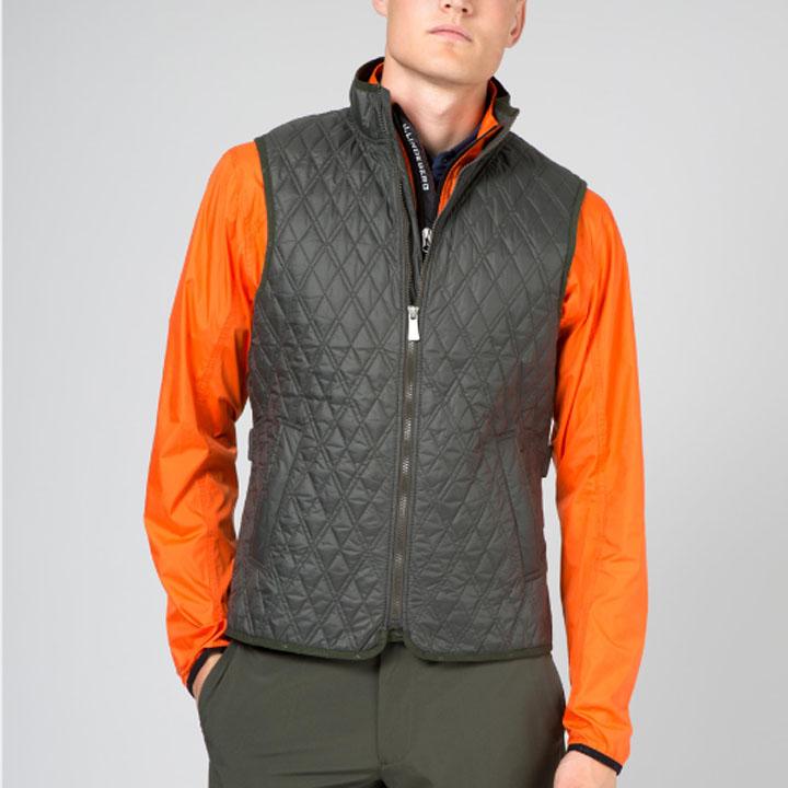 ジェイリンドバーグ J.Lindeberg ゴルフ ベスト Golf Primaloft Quilted Club Vest
