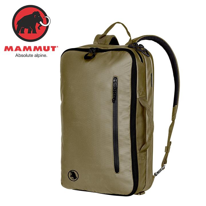 Mammut マムート Seon 3-Way 18L セオン 3 ウェイ 18L Olive オリーブ リュック バックパック バッグ トレッキングパック トレッキング アウトドア 登山用 長距離 ハイキング