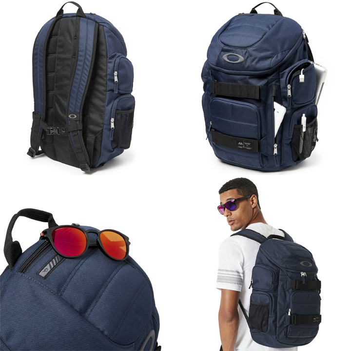 e66aef2727 e-ShopSmart  Oakley Enduro 30L 2.0 Backpack backpack navy 921012 ...