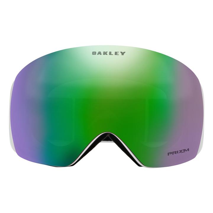 オークリー Oakley スノーゴーグル Snow Goggle フライトデッキ Flight Deck マットホワイト MATTE WHITE PRIZM スタンダード (Standard Fit)