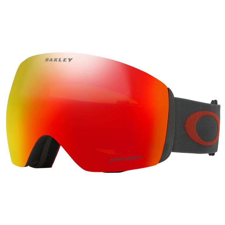 オークリー Oakley スノーゴーグル Snow Goggle フライトデッキ Flight Deck Iron Brick PRIZM スタンダード (Standard Fit)