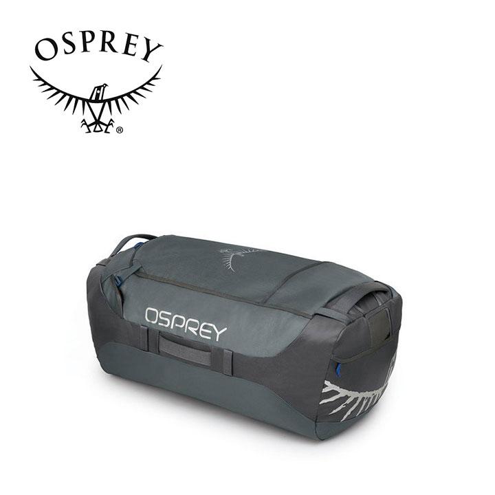 Osprey オスプレー Transporter 130 トランスポーター 130 Pointbreak Grey グレー ダッフルバッグ ボストンバッグ トラベル アウトドア 登山 長距離