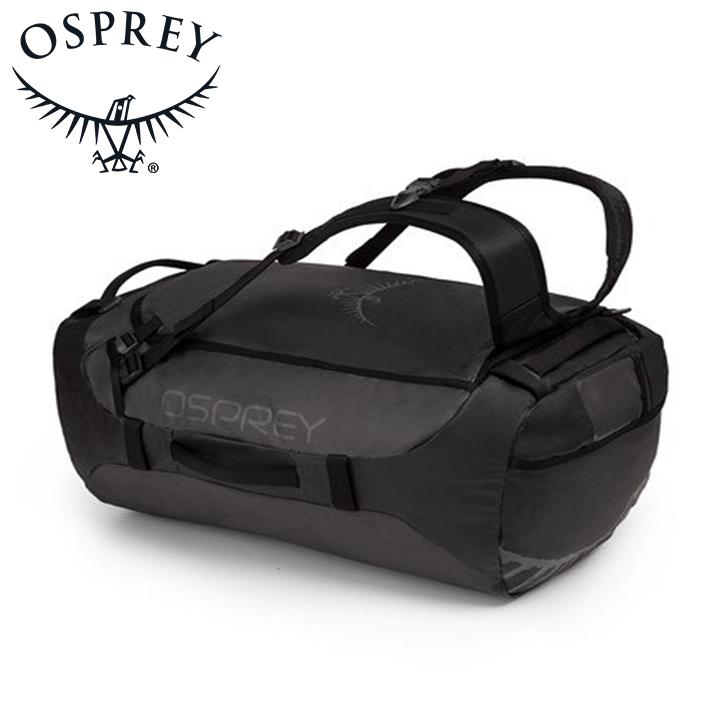 送料無料 高額売筋 最大2000円割引クーポン Osprey オスプレー Transporter 65 トランスポーター 保証 Black ブラック ダッフルバッグ ダッフル アウトドアギア ハイキング トラベル 登山用 長距離 ボストンバッグ