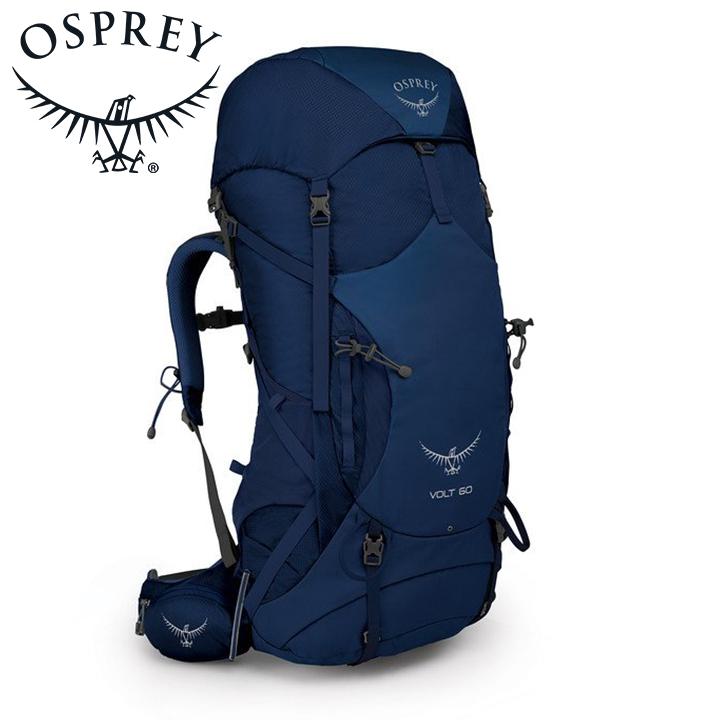 Osprey オスプレー Volt 60 ボルト60 Portada Blue ブルー リュック バックパック バッグ トレッキングパック トレッキング アウトドア 登山用 長距離 ハイキング