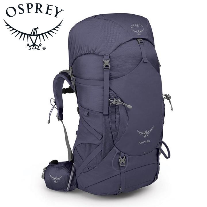Osprey オスプレー Viva 65 ビバ 60 Mercury Purple 紫 女性用 リュック バックパック バッグ トレッキングパック トレッキング アウトドア 登山用 長距離 ハイキング