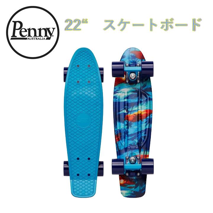 【送料無料】ペニー Penny 22インチ MAKANA マカナ コンプリート スケートボード クルージングボード スケボー