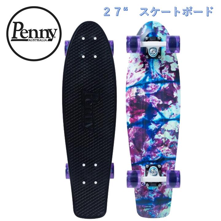 【送料無料】ペニー Penny 27インチ Blue Sunshine ブルーサンシャイン コンプリート スケートボード クルージングボード スケボー
