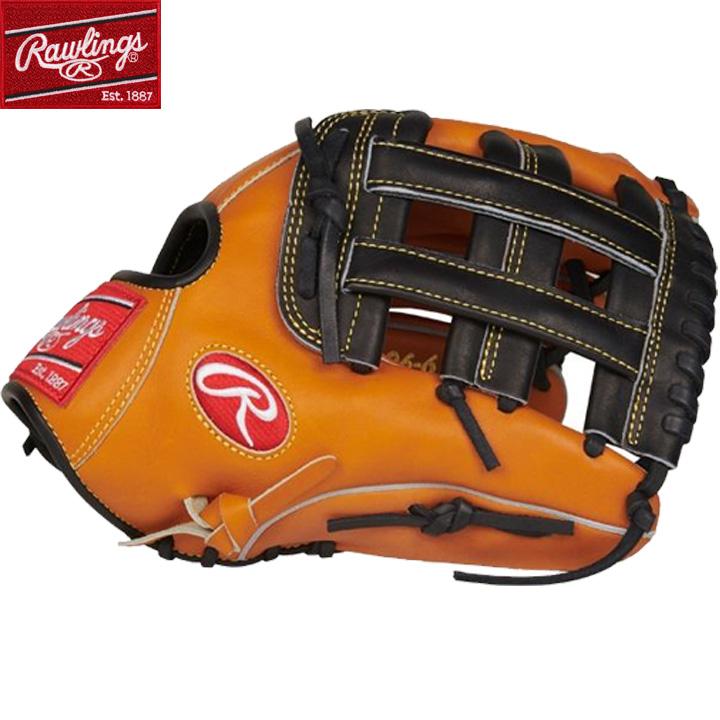 【USA物】Rawlings ローリングス 野球 グラブ MLB Hウェブ HOH (Heart of the Hide) 硬式 野球 軟式 オールラウンド用 グローブ