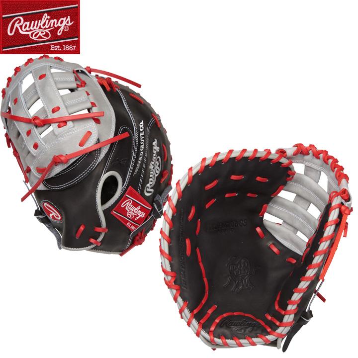 【USA物】左投用 Rawlings ローリングス ミット 野球 グラブ MLB Hウェブ HOH (Heart of the Hide) 硬式 野球 軟式 ファーストミット 一塁手 グローブ