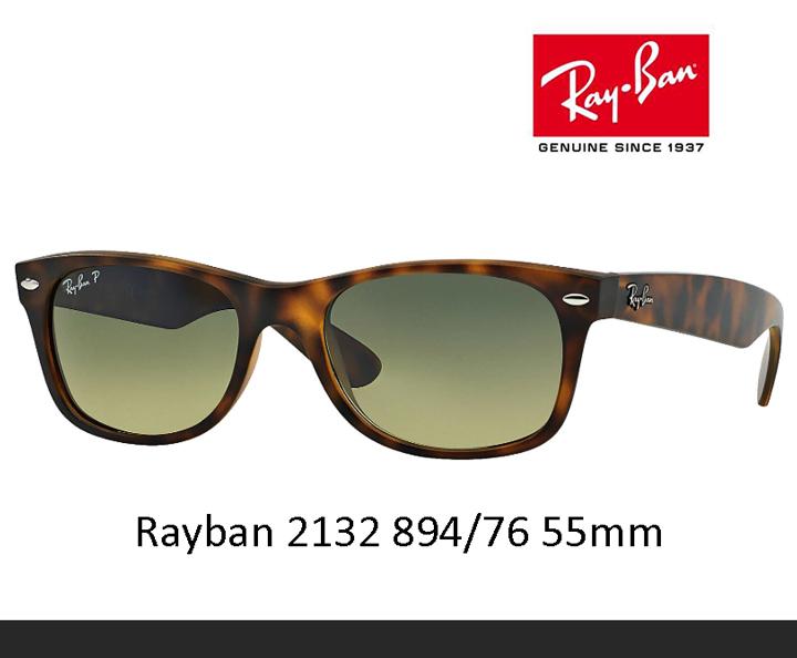 レイバン サングラス Rayban RB2132-894/76 55mm ニューウェイファーラークラシック sunglass