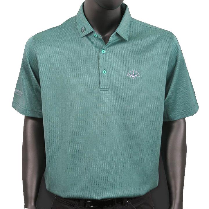 【送料無料】【ネコポスで割引】 スコッティーキャメロン ポロシャツ Scotty Cameron「Peter Millar SS - Sherwood Green」Polo ポロ