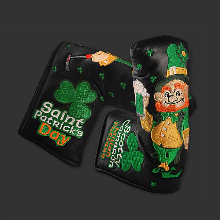 スコッティキャメロン限定 ヘッドカバー 「2015 セントパトリックスデー」Scotty Cameron Golf 2015 St. Patrick's Day