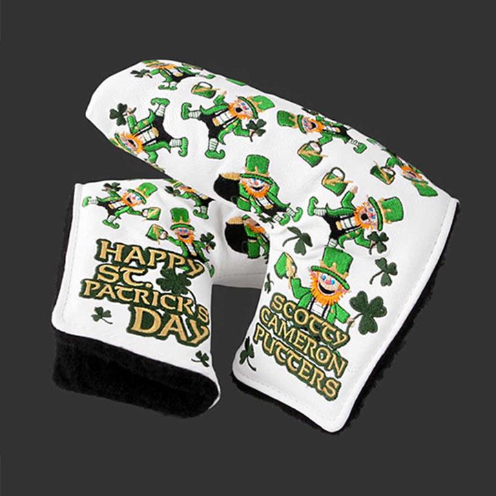スコッティキャメロン限定 ヘッドカバー 「2014 セントパトリックスデー」Golf Scotty Cameron 2014 St. Patrick's Day
