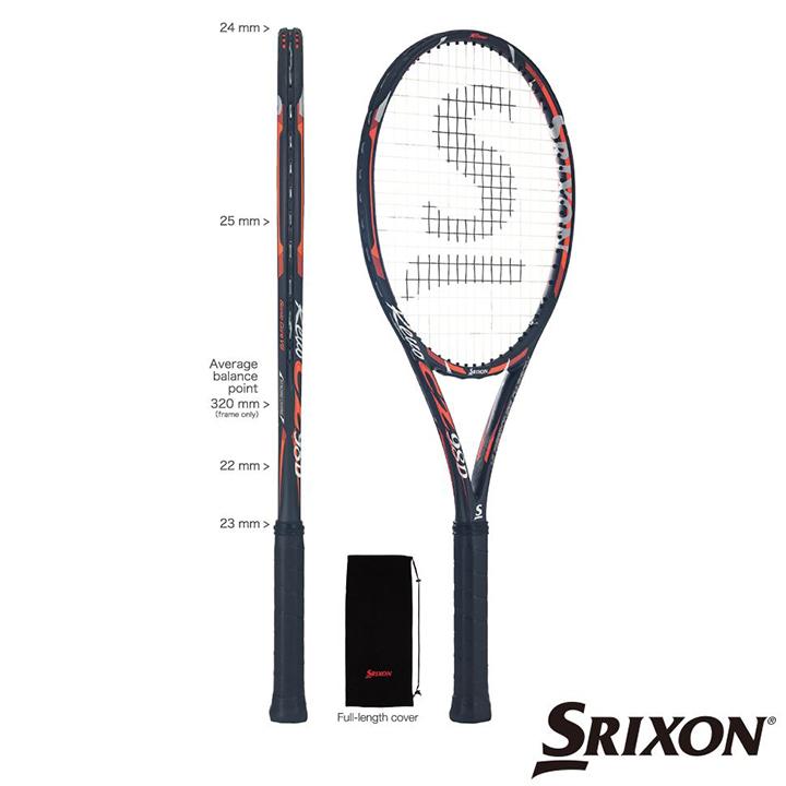 スリクソン (SRIXON) DUNLOP ダンロップ 硬式テニスラケット REVO CZ 98D (レヴォCZ98D) (スマートテニスセンサー対応) Tennis ラケット