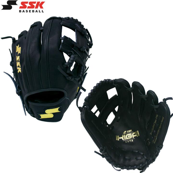送料無料 【USA物】SSK エスエスケイ 内野手 グローブ MLB モデル [ハビアー・バエズ 選手] 硬式 野球 グラブ PRAYER PRO シリーズ 軟式使用可能 右投げ用 ブラック