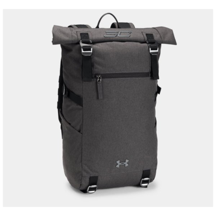 Under Armour Under Armour SC30 Rolltop Backpack Gray gray backpack rucksack  bag day school club activities club 5d04f01a85603