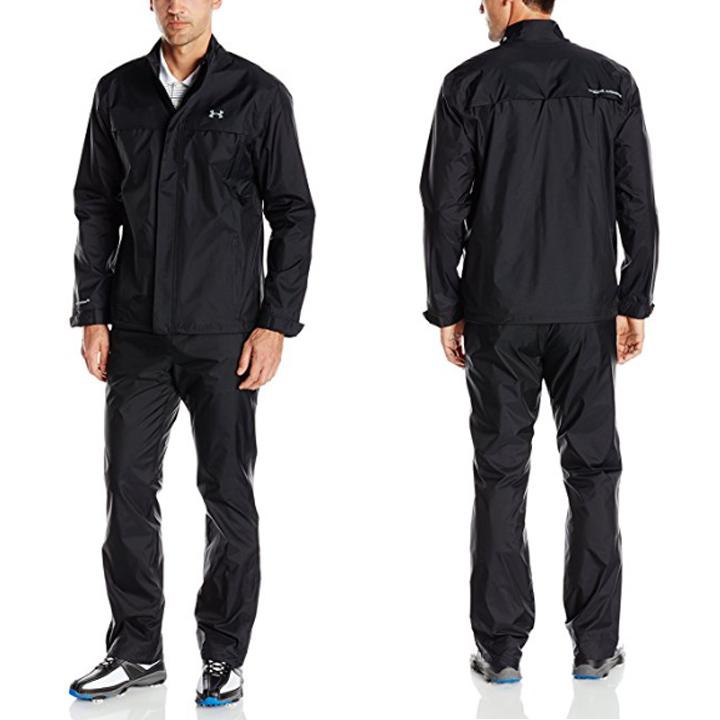 【日本未発売カラー】【10倍★ポイントアップ!】  UNDER ARMOUR アンダーアーマー UA Storm Golf Rain Suit ストームレインスーツゴルフ/レインウェア/上下セット/MEN