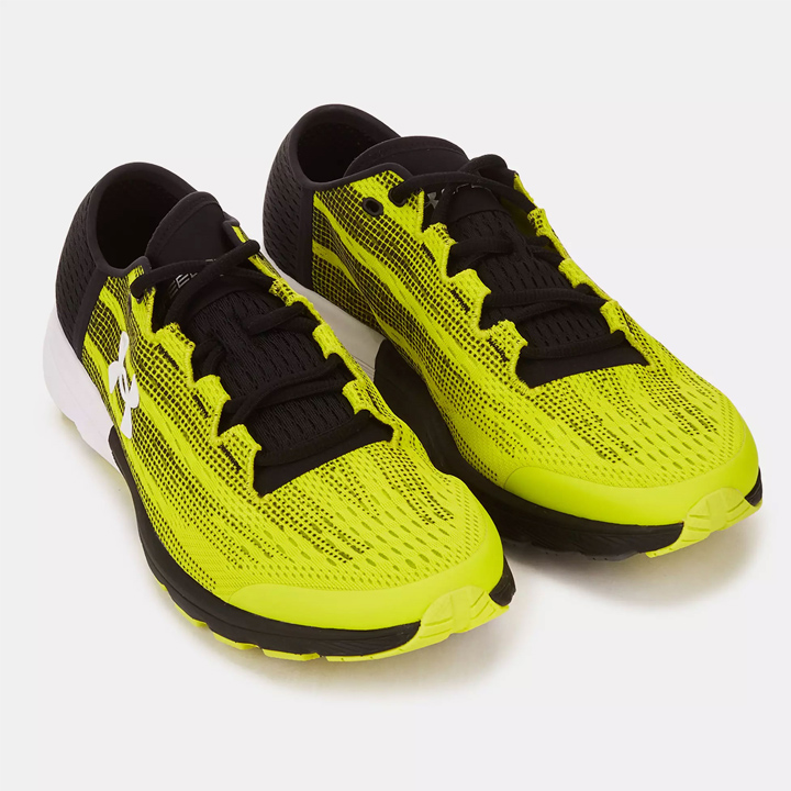 size 40 defd1 656be Under Armour UA SpeedForm Velociti Running Shoes speed form velocity  Yellow/Black yellow / black men running shoes sneakers
