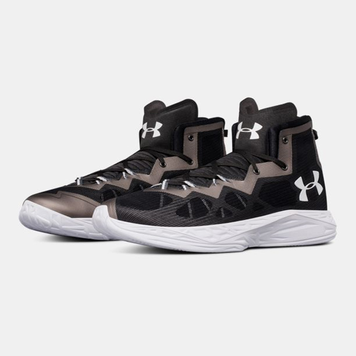 Under Armour Under Armour UA Lightning 4 UA lighting 4 Black black  basketball shoes 57b05ad5a1
