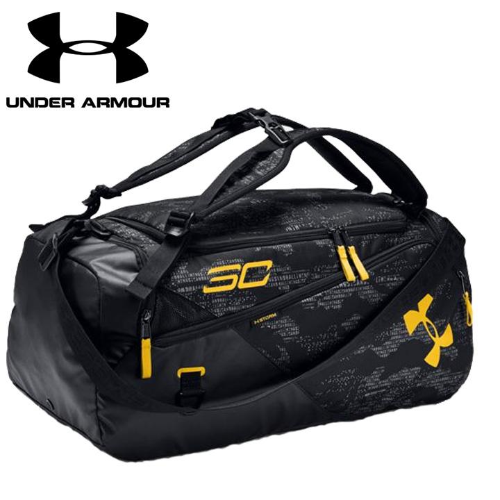 アンダーアーマー Under Armour  SC30 Contain 4.0 Backpack Duffle アンダーアーマー Black 黒 バックパック リュック かばん 通学 学校 部活 クラブ