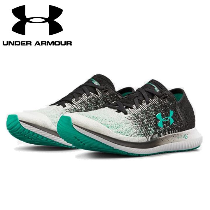 2389f933e7 Under Armour UNDER ARMOUR スレッドボーンブラー UA Threadborne Blur men running shoes  sneakers white / black