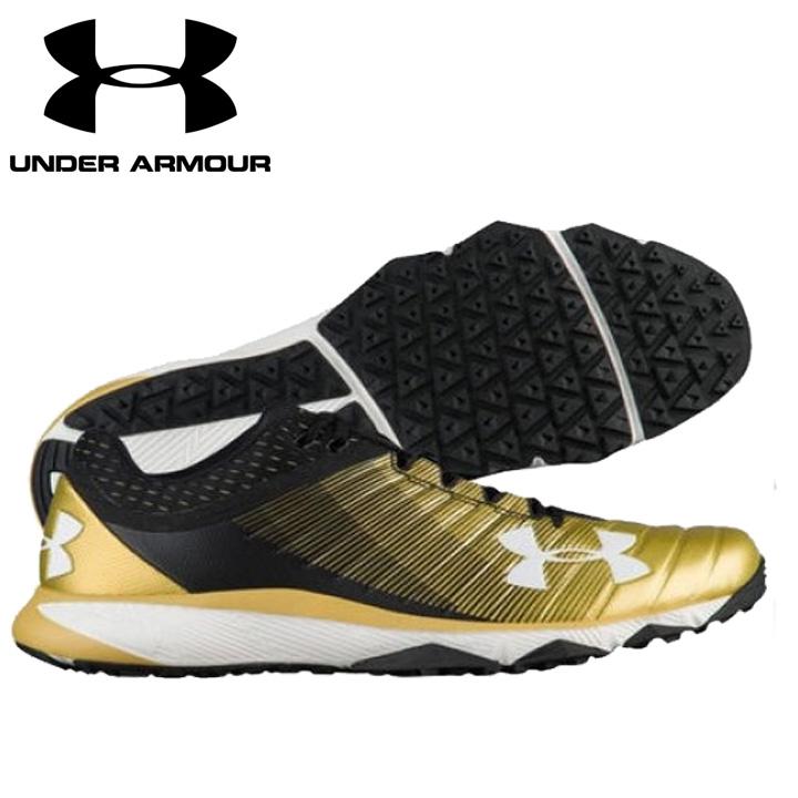 UNDER ARMOUR アンダーアーマー 野球 トレーニングシューズ Black/Gold ブラック/ゴールド UA Yard Low Trainer ヤードロートレーナー メンズ 靴 トレシュ