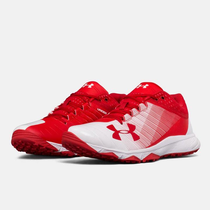 UNDER ARMOUR アンダーアーマー 野球 トレーニングシューズ Red/white レッド/ホワイト UA Yard Low Trainer ヤードロートレーナー メンズ 靴 トレシュ