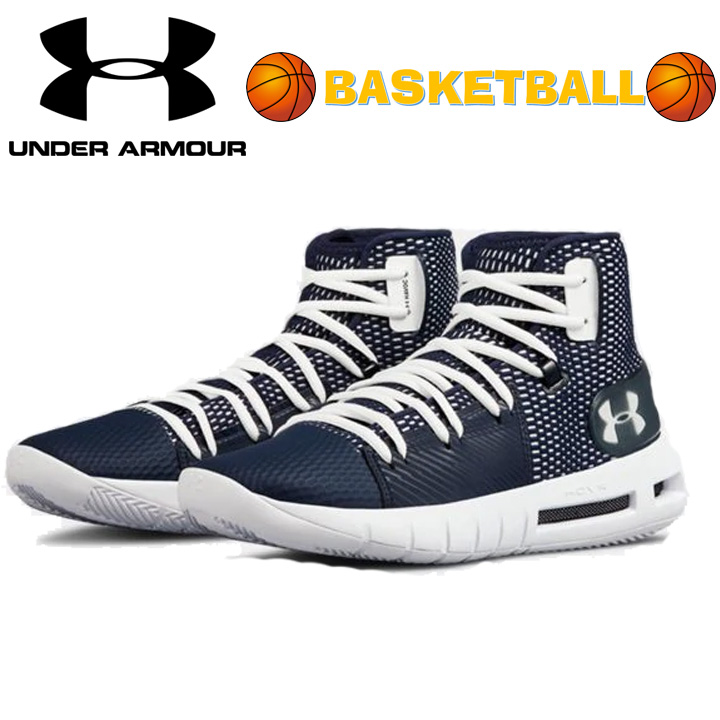 best service 1d5e6 94c3e Under Armour Under Armour UA HOVR Havoc ホバーハボック Navy dark blue basketball  shoes basketball sneakers men