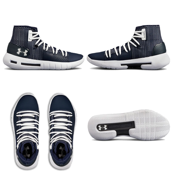 0ad744d1e051 Under Armour Under Armour UA HOVR Havoc ホバーハボック Navy dark blue basketball  shoes basketball sneakers men