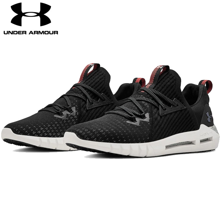 1ef5a275b56b Under Armour UNDER ARMOUR UA ホバーシルクエボ UA HOVR SLK EVO black black men  running shoes sneakers