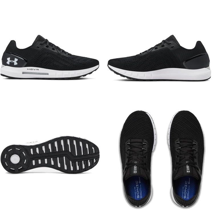 newest 2a20c e7ca1 Under Armour UNDER ARMOUR UA ホバーソニック 2 UA HOVR SONIC 2 black black men  running shoes sneakers