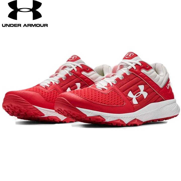UNDER ARMOUR アンダーアーマー 野球 トレーニングシューズ Red/White レッド/ ホワイト UA Yard Trainer ヤードトレーナー メンズ 靴 トレシュ