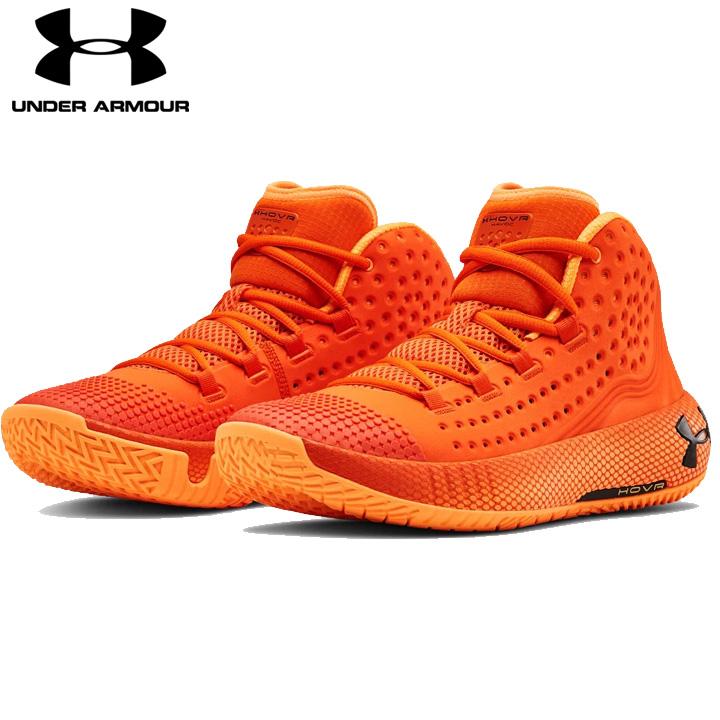 【送料無料】 アンダーアーマー Under Armour メンズ バスケットボール シューズ UA HOVR Havoc 2 ホバー バッシュ スニーカー オレンジ