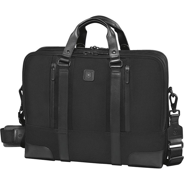 ヴィクトリノックス VICTORINOX ビジネスバッグ LaSalle15 ラサール15 ブラックブリーフケース Briefcase 601112