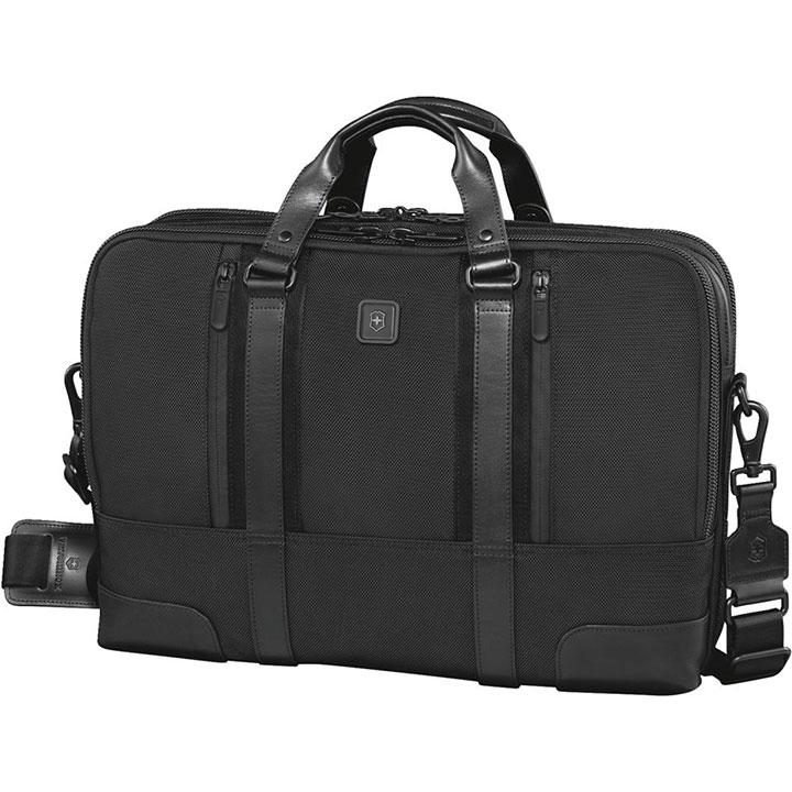 ヴィクトリノックス VICTORINOX ビジネスバッグ Paulista17 パウリスタ17 ブラックブリーフケース Briefcase 601113