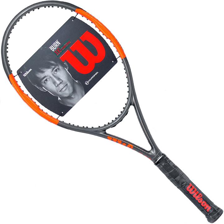 ウィルソン Wilson 2017 バーン 100 S カウンターヴェイル テニスラケットBURN 100 S CV Tennis Racquet
