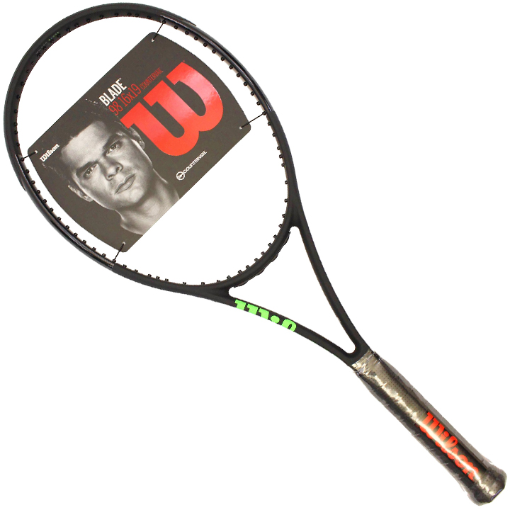 ウィルソン Wilson Blade Black ブレード ブラックエディション 限定 ラケット 98 16x19 CV カウンターヴェイル Tennis Racquet