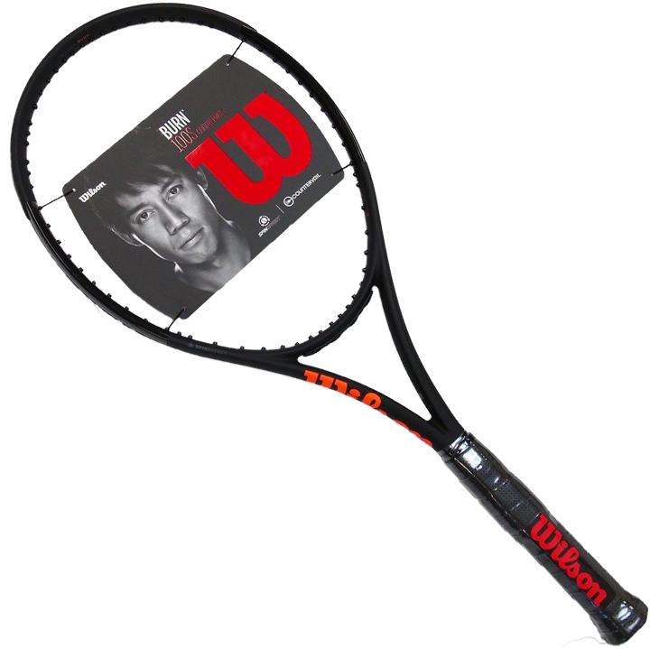 ウィルソン Wilson バーン Burn 100S CV BLACK ブラックエディション 限定 ラケット Tennis Racquet