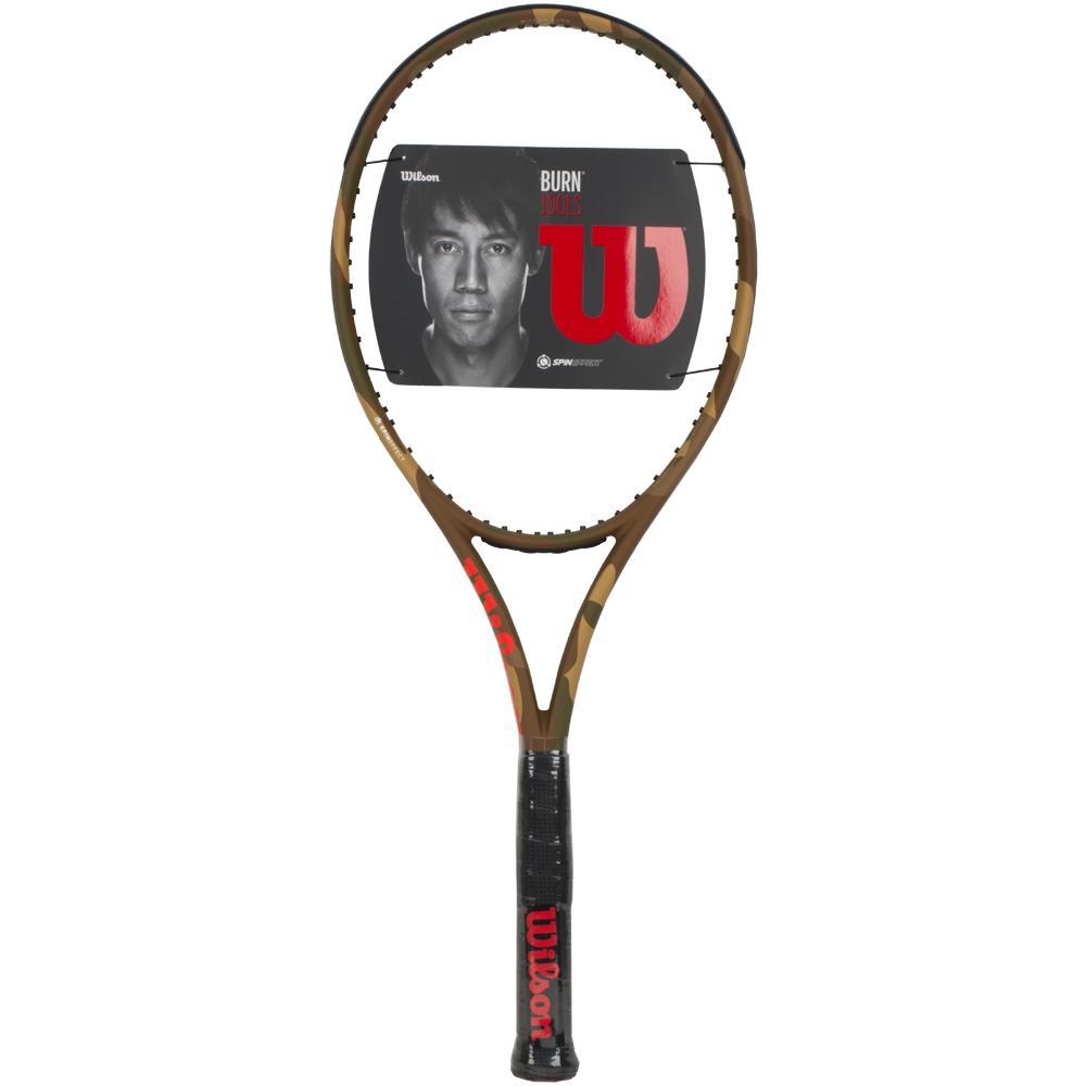 ウィルソン BURN 100LS CAMO SAND TENNIS RACKET バーン 100LS カモ サンド テニスラケット
