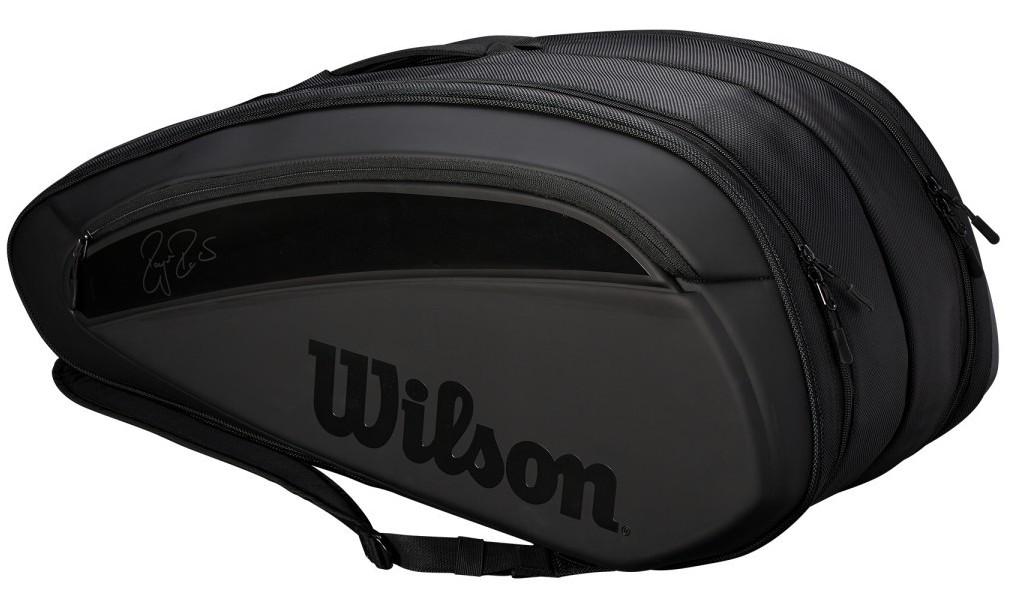 Wilson Federert Tennis Bag DNA 12 Black ラケットホルダー / ラケットバック / テニスバッグ