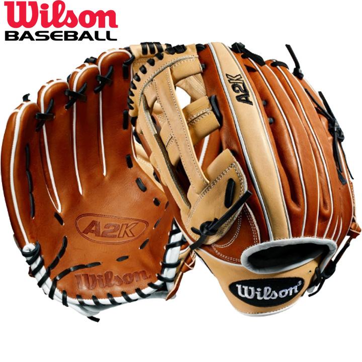 送料無料 【USA物】ウィルソン 野球 DUAL 硬式 外野手用 グローブ グラブ A2K シリーズ Wilson 軟式使用可能 左投げ用 デュアルポストウェブ 12.75インチ