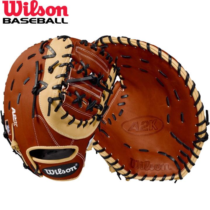 送料無料 【USA物】ウィルソン 野球 硬式 ファーストミット ミット A2K シリーズ Wilson 1塁選手用 軟式使用可能 右投げ用